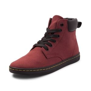 Dr Martens Maelly Womens Cherry Red Boot sz 7